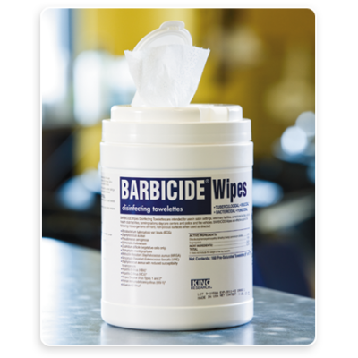 Barbicide Wipes 160 Count