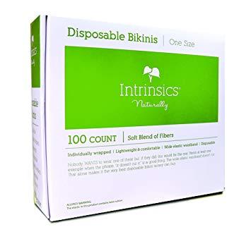 Intrinsics Disposable Bikinis 100 pack