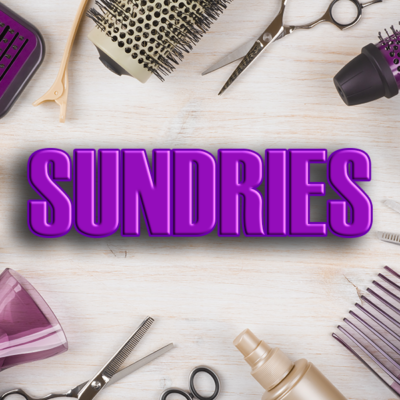 Sundries- Brushes. Towels, Bowls, Cleaners, Developers
